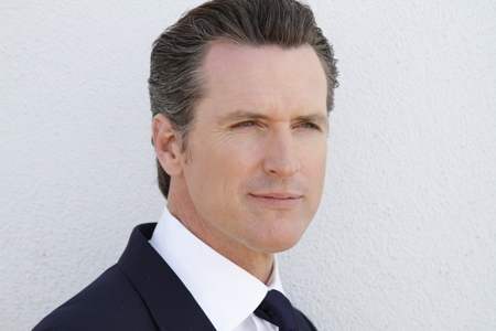 Gavin Newsom (c) Current TV SLASH The Gavin Newsom Show