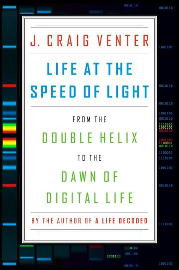 Cover.Life at the Speed of Light